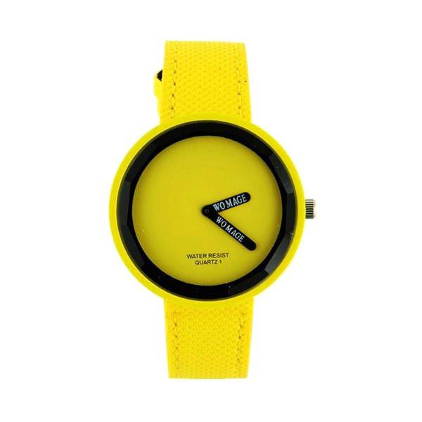 Préférence jaune montre femme pas chère marque Womage TG91