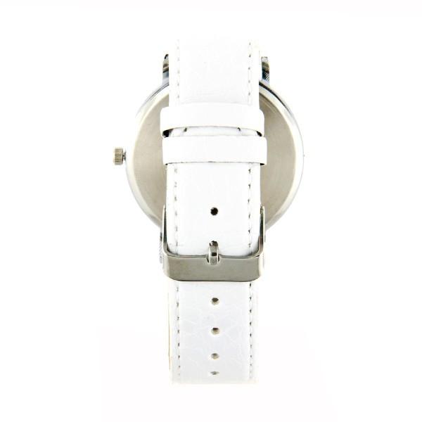 Montre moins ch re mire t l vision bracelet blanc - Television pas chere ...