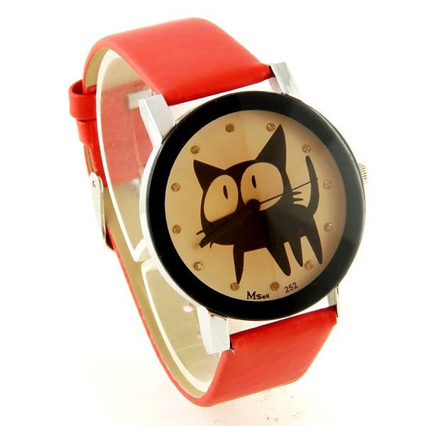 montre chat femme pas ch 232 re bracelet