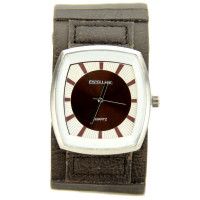 Montre Excellanc homme marron large