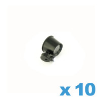 Loupe grossissante 10X avec LED