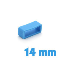 Loop Silicone Bleu 14 mm de montre