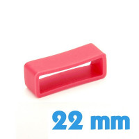 Loop pour bracelet Silicone Rouge 22 mm