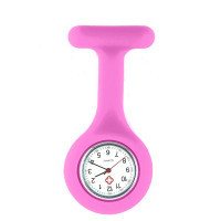 Montre pharmacie rose silicone