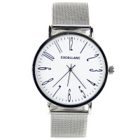 Montre maille milanaise homme