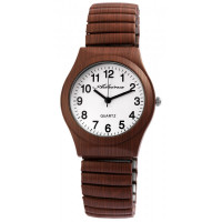 Montre extensible marron