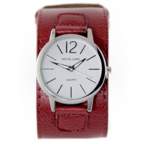 Montre bracelet de force femme Excellanc rouge
