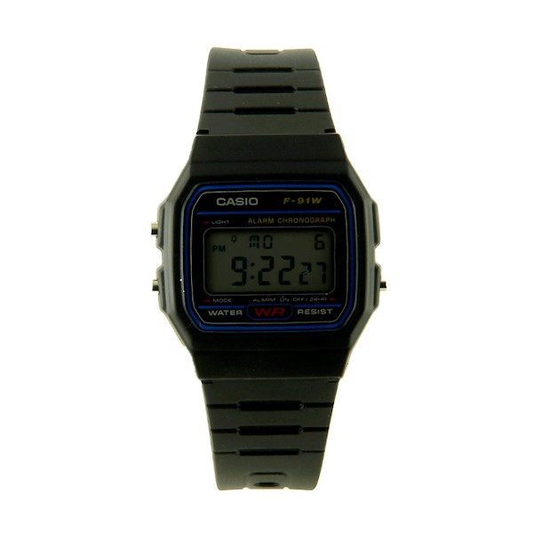 montre casio f 91w digitale lcd. Black Bedroom Furniture Sets. Home Design Ideas