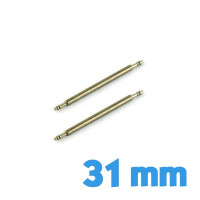 Lot de 2 pompes de montre 31 mm