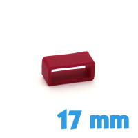 Loop Silicone Rouge 17 mm bracelet