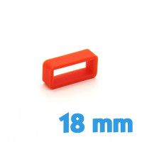 Loop bracelet Silicone Orange 18 mm pas cher