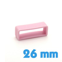 Loop bracelet Silicone 26 mm  - Rose