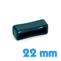 Loop montre Silicone Bleu 22 mm