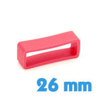 Loop Silicone Rouge 26 mm bracelet