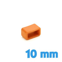 Passant de bracelet 10 mm Orange