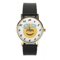 Montre smiley ange sourire gentil