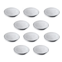 Lot de 10 Piles montre lithium 3 V  CR2430