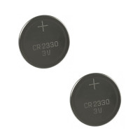 Pack de 2 Batteries de montre CR2330 3 V lithium